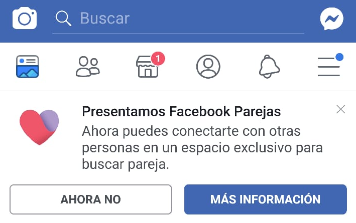 Facebook Dating llega a la Latinoamérica