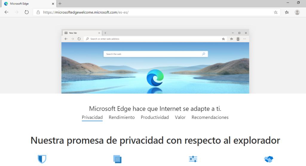 Edge Chromium de Microsoft llega para todos