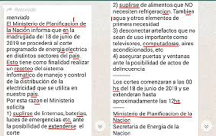 noticias falsas en internet whatsapp