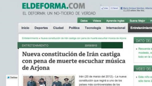 Detectando noticias falsas en Internet